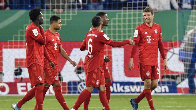Les joueurs du Bayern ont accepté une baisse de salaire en cette période difficile. [Martin Meissner - Keystone]