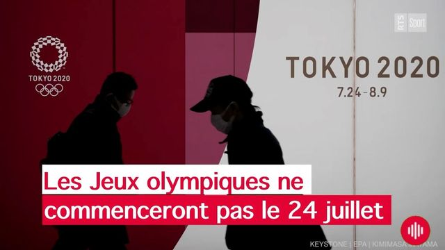 Les Jeux ne commenceront pas le 24 juillet. [Keystone]