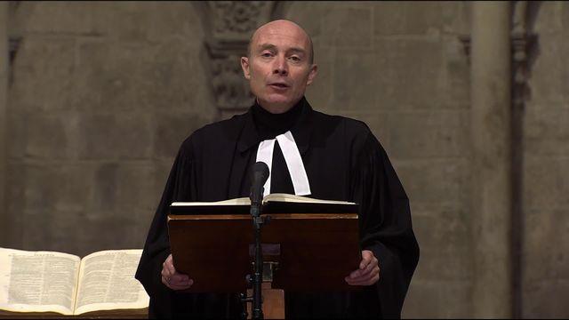 Culte du 4e dimanche de Carême, de la Cathédrale St Pierre de Genève [RTS]