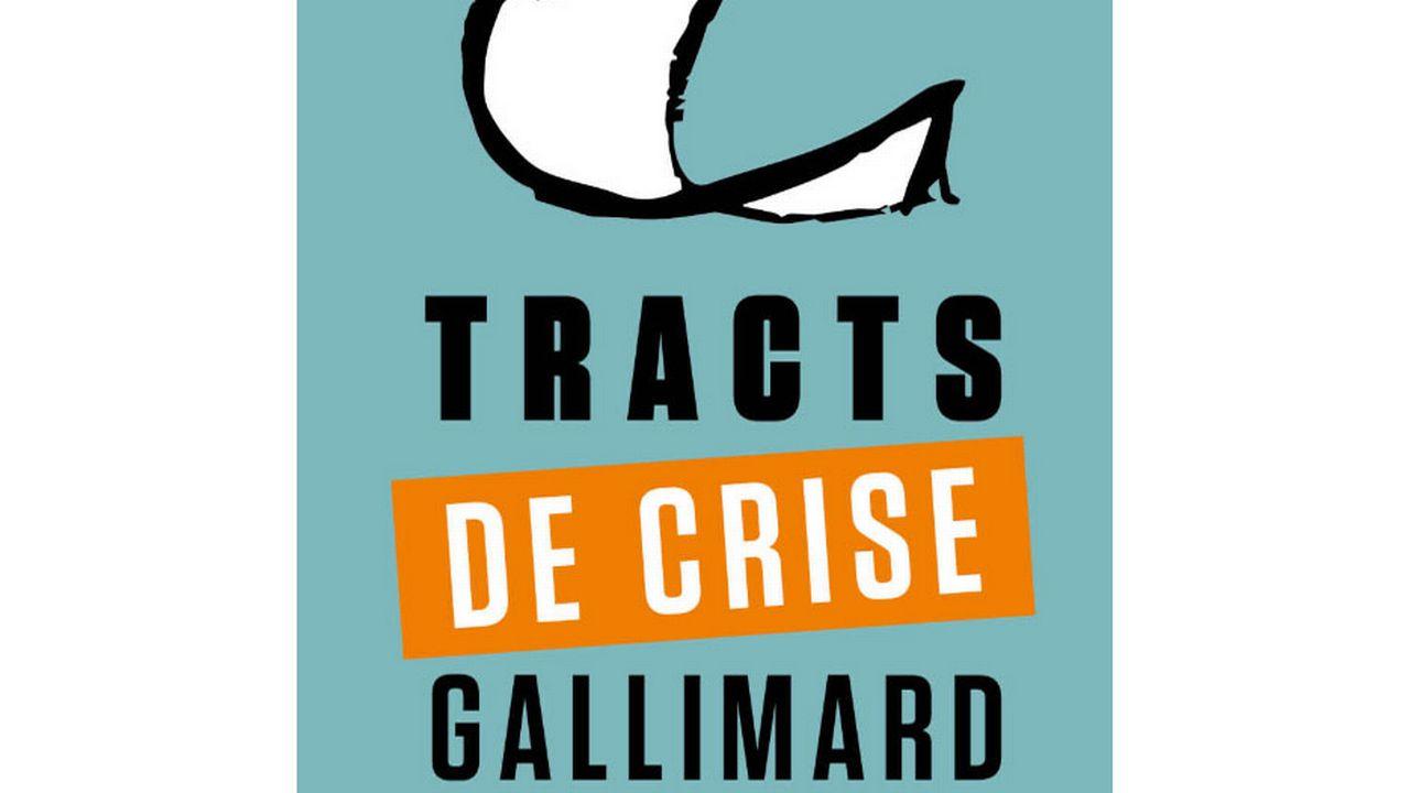 """Le visuel de """"Tracts de crise"""". [Gallimard]"""