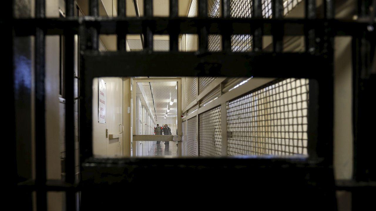 Le couloir de la mort de la prison de San Quentin en Calofornie, Etat qui n'a pas exécuté de condamné à mort depuis 2007 [Stephen Lam - Reuters]