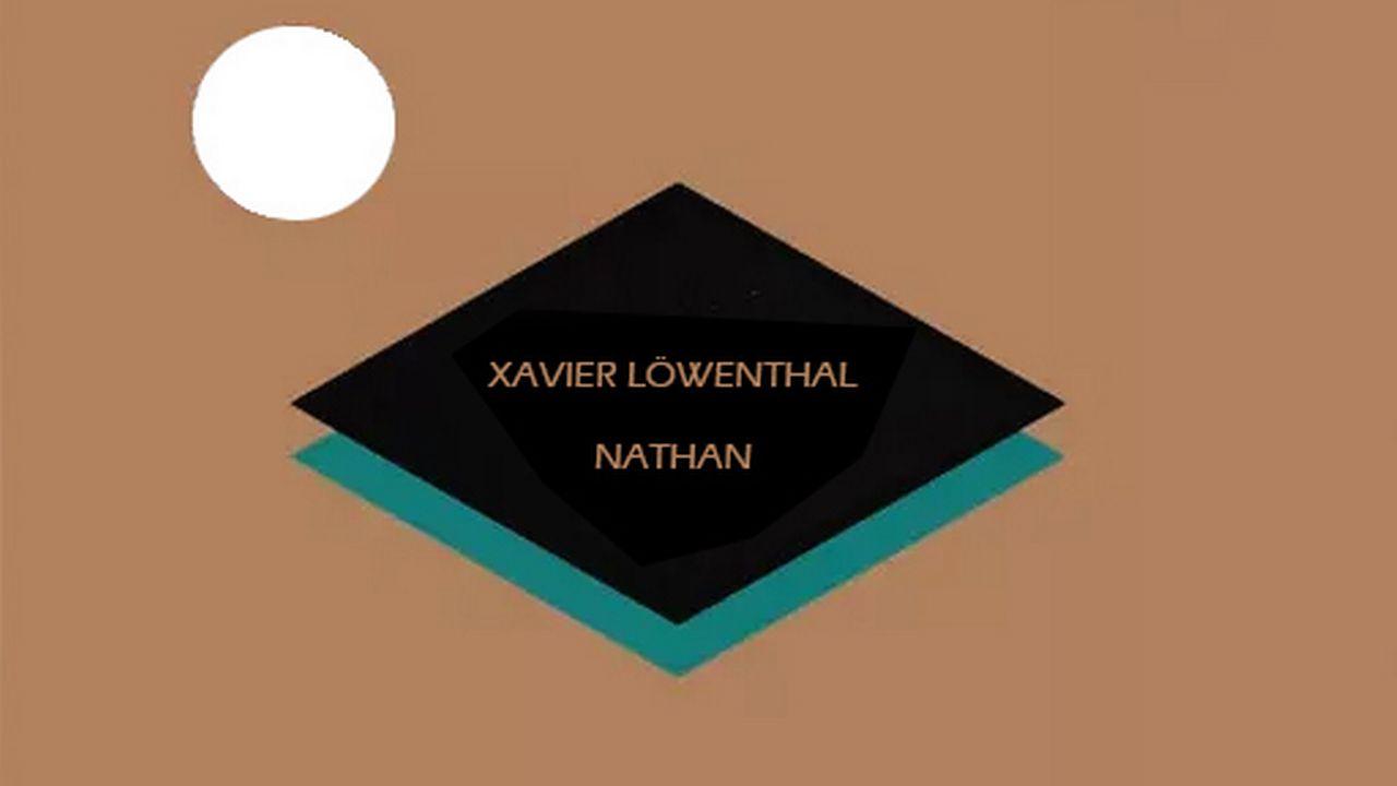 """Couverture du livre """"Nathan"""" de Xavier Löwenthal. [Helis Helas]"""