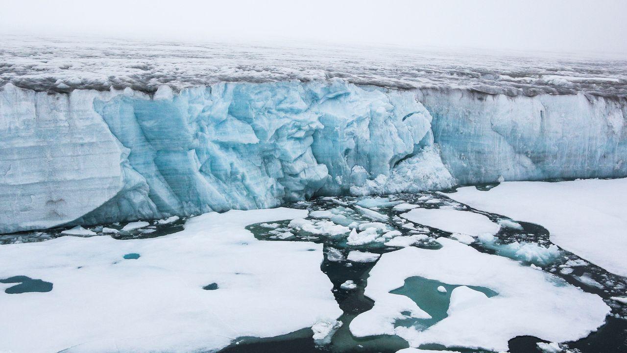Un trou dans la couche d'ozone s'est formé au-dessus du pôle Nord. [Pavel Lvov - AFP]