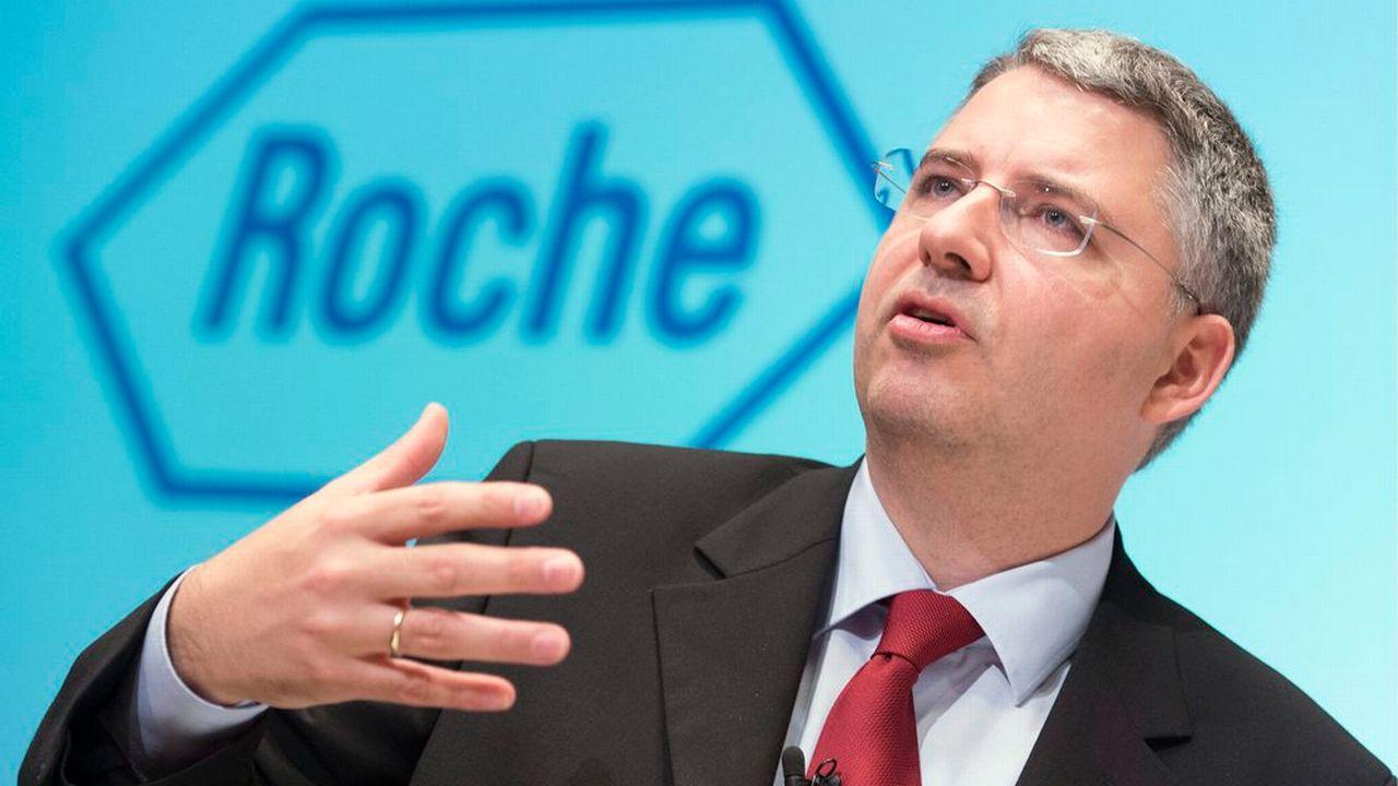 Severin Schwan, patron de Roche. [Georgios Kefalas - Keystone]