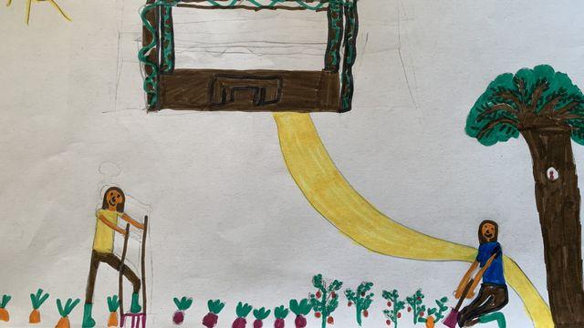 Le dessin de Zulma. [Zulma - RTS]