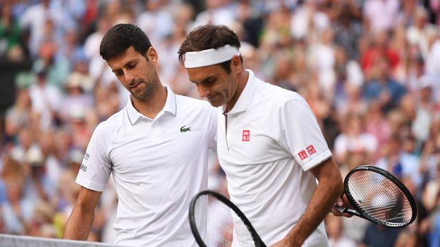 La finale messieurs de l'été 2019 reste un traumatisme pour les Helvètes. Novak Djokovic, bourreau de Roger Federer, gardera-t-il son titre plus longtemps que prévu? [Laurence Griffiths - AP]