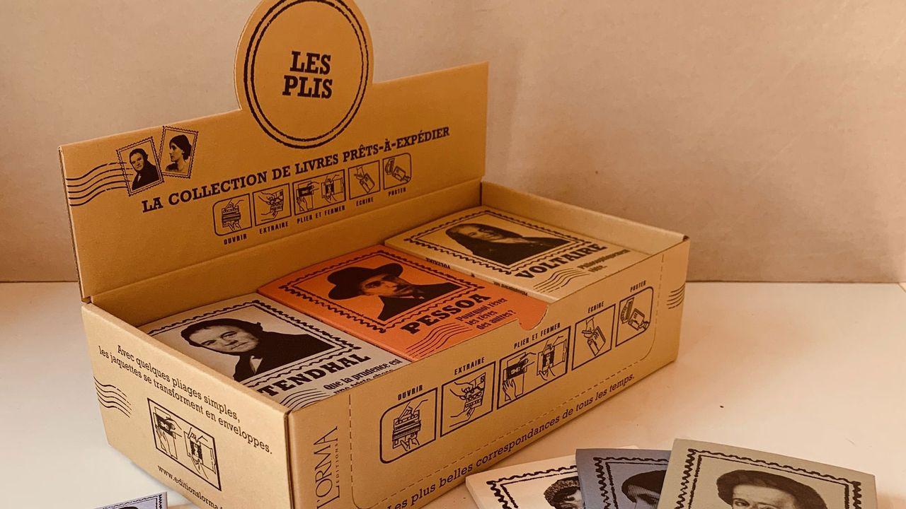 """""""Les Plis"""", une nouvelle collection épistolaire venue d'Italie [Editions L'Orma.]"""
