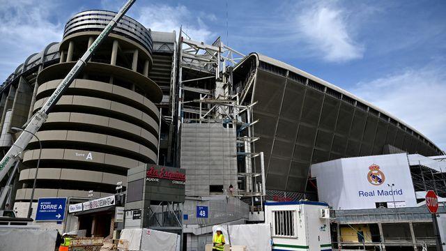 Le stade Santiago Bernabeu va accueillir du matériel médical. [Gabriel Bouys - AFP]