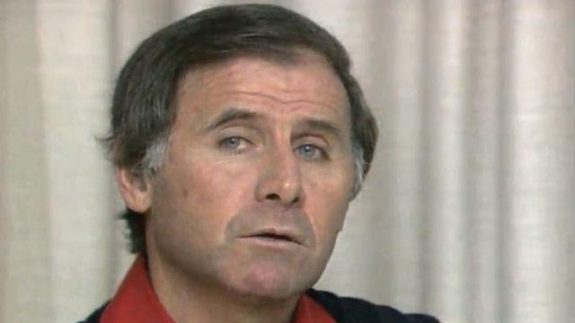 Michel Hidalgo en 1980. [RTS]