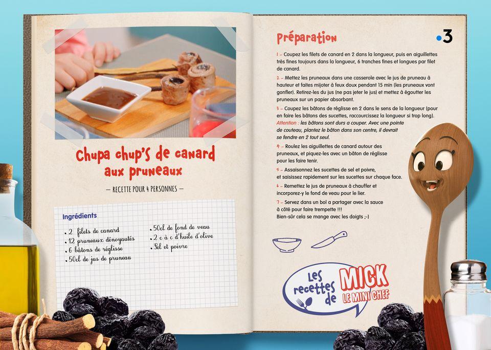 La recette des Chupa chup's de Canard. [Studio Redfrog - AnimationsFabrik]