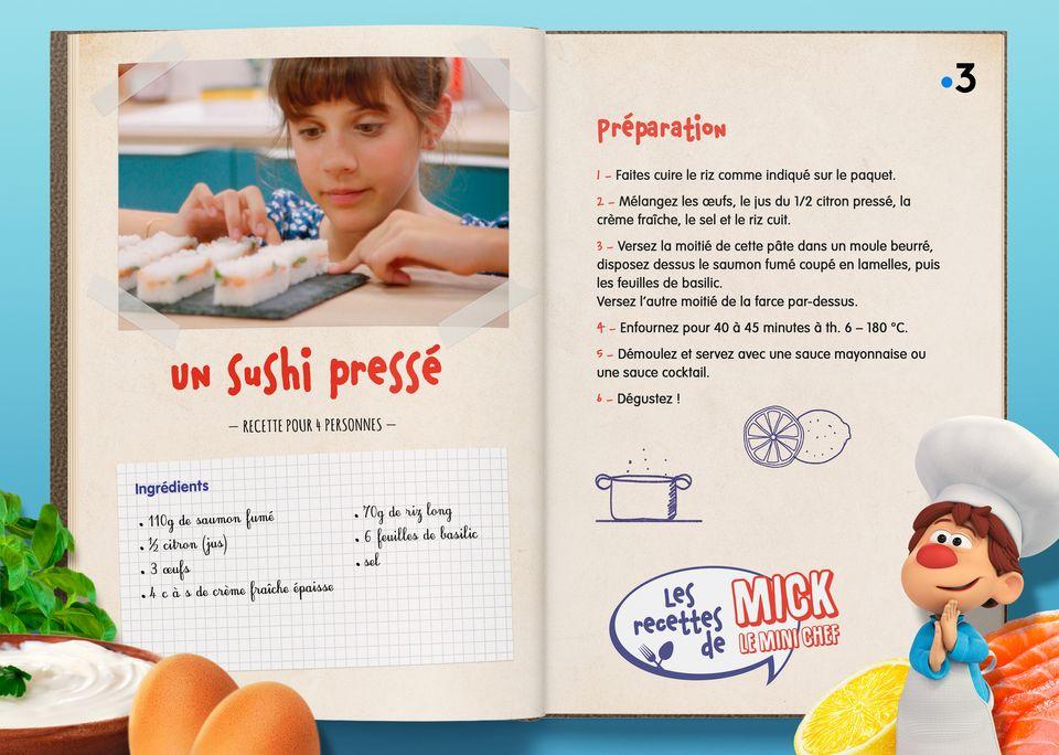 La recette des Sushis Pressés. [Studio Redfrog - AnimationsFabrik]