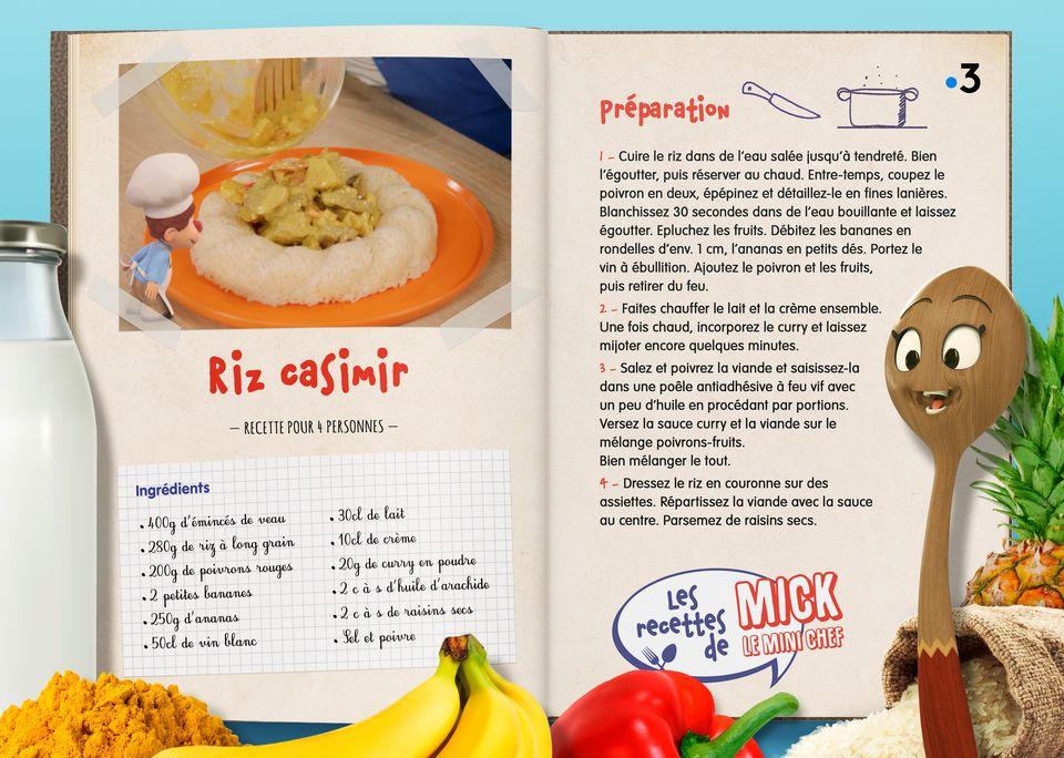 La recette du Riz Casimir. [Studio Redfrog - AnimationsFabrik]