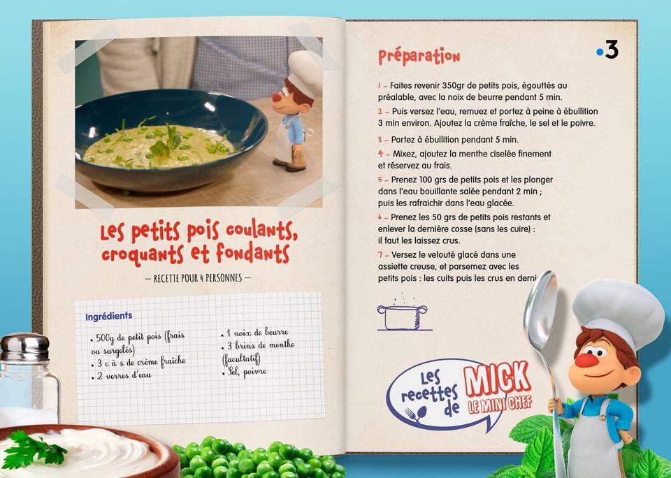 La recette de la Soupe aux Petis Pois. [Studio Redfrog - AnimationsFabrik]