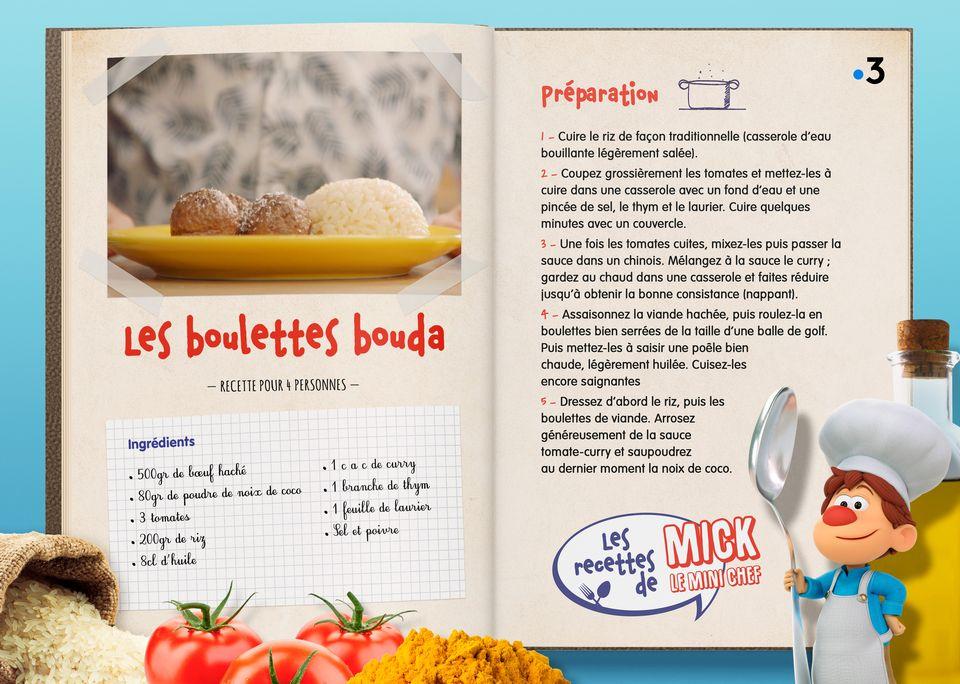 La recette des Boulettes Bouda. [Studio Redfrog - AnimationsFabrik]