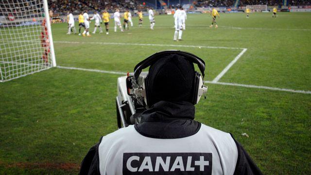 Canal+, principal diffuseur de la Ligue 1, devait verser 110 millions d'euros en avril. [Jeff Pachoud - AFP]