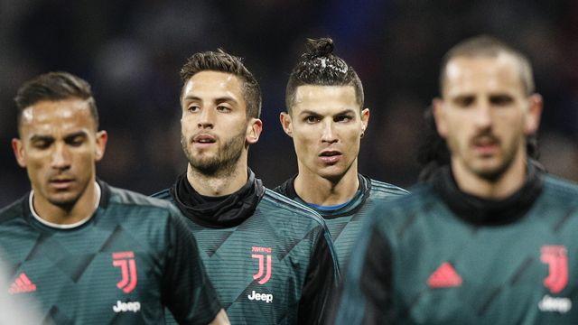 Cristiano Ronaldo et ses partenaires ont compris l'urgence de la situation. [Yoan Valat - AFP]