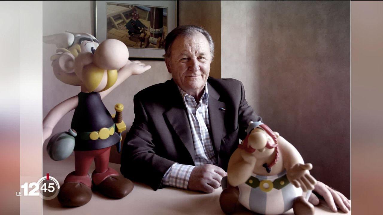 Albert Uderzo, le dessinateur d'Astérix, est décédé d'une crise cardiaque à 92 ans. [RTS]