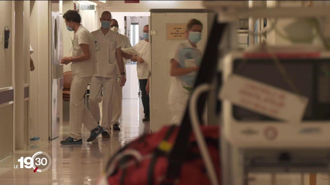 Dans les hôpitaux suisses, les stocks d'anesthésiants diminuent. Un manque qui pourrait notamment peser aux soins intensifs. [RTS]