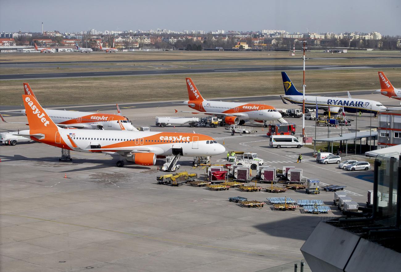 Coronavirus : La compagnie aérienne Easyjet immobilise toute sa flotte