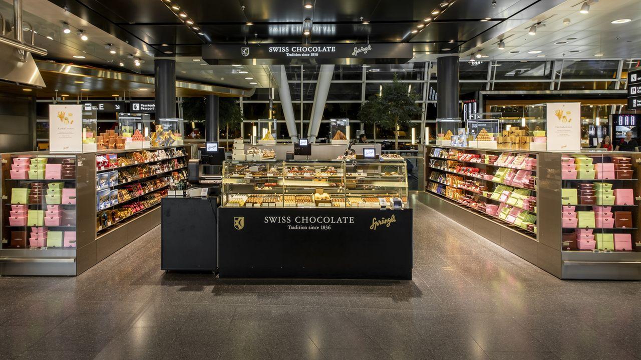 Les exportations de chocolat suisse ont augmenté en 2019. [Christian Merz - Keystone]