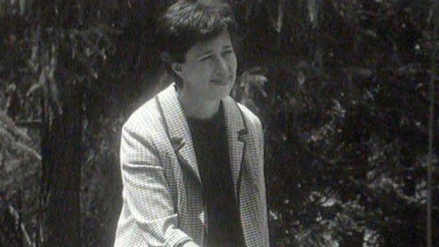 La romancière suisse Yvette Z'Graggen en 1964. [RTS]