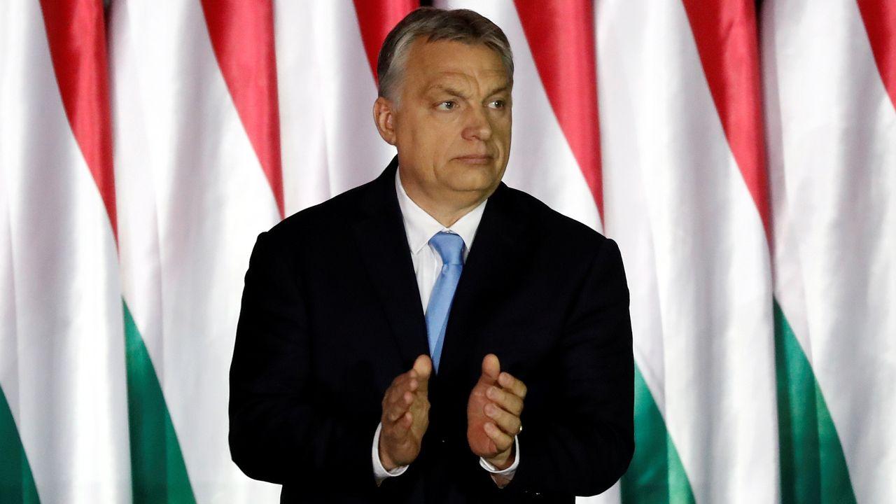 Le Premier ministre hongrois Viktor Orban (ici, en avril 2019). [Bernadett Szabo - Reuters]
