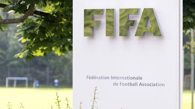 """La FIFA a évoqué la création d'un potentiel """"fond de soutien"""" au football mondial. [Nick Soland - Keystone]"""