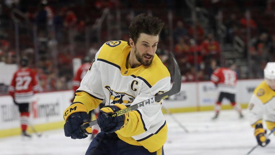 Roman Josi griffe les glaces de NHL depuis 2011 déjà. [Nam Y. Huh - Keystone]