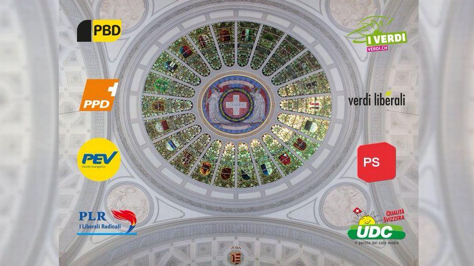 """""""Un pour tous, tous pour un"""": les partis reprennent la devise traditionnelle de la Suisse pour prôner l'unité face au coronavirus."""
