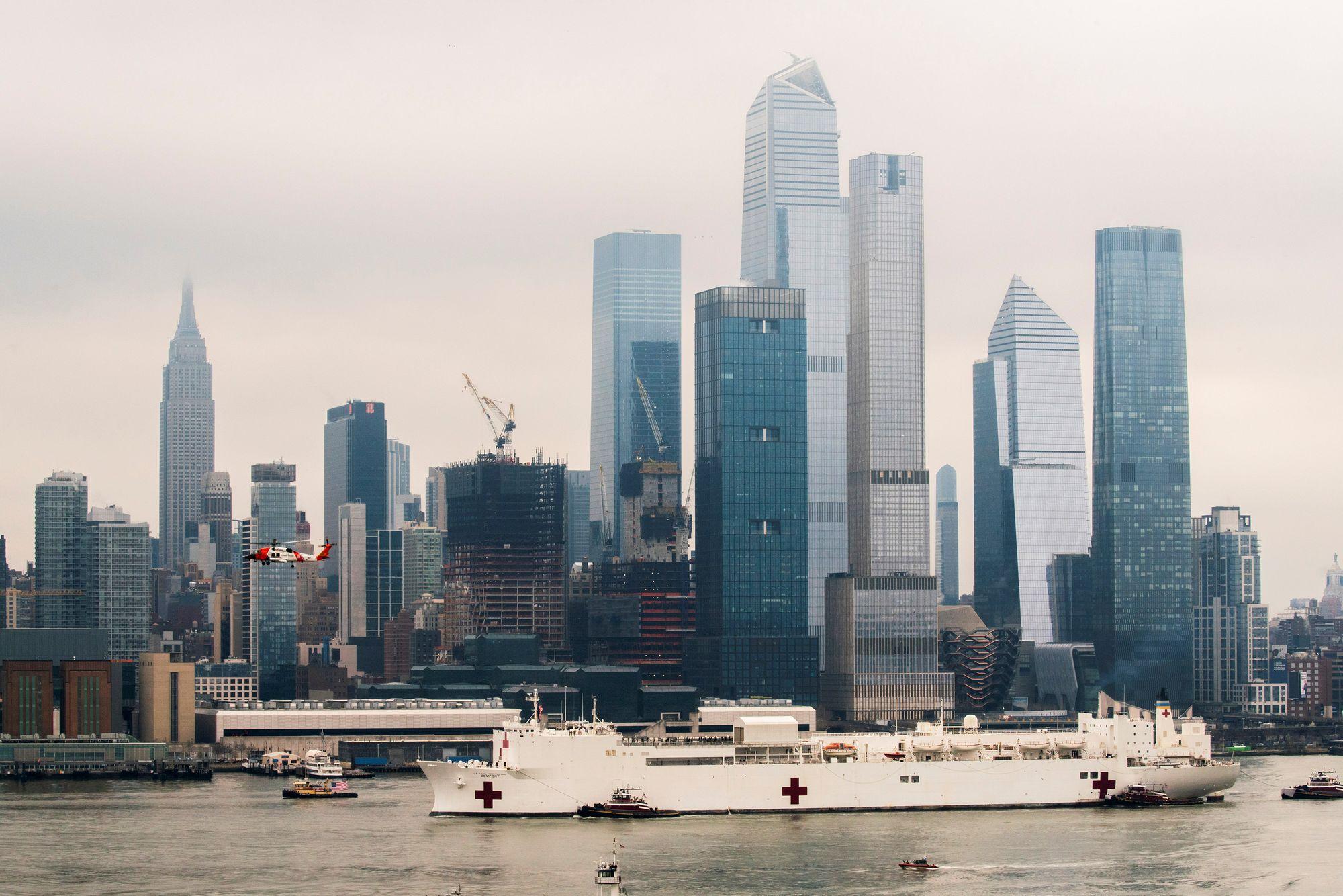 New York se transforme face au coronavirus - rts.ch - Monde
