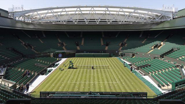 Wimbledon restera vide une année de plus. [Peter Klaunzer - Keystone]
