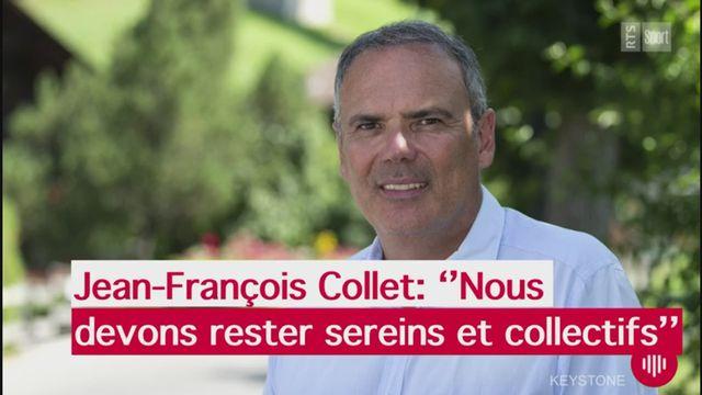 """Jean-François Collet: """"Nous devons rester sereins et positifs"""" [RTS]"""