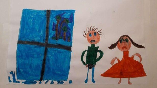 """Mensonge"" par Oscar, 8 ans. [Oscar]"