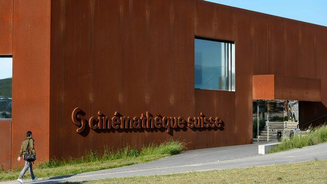 Le bâtiment du centre d'archivage de la Cinémathèque suisse. [Laurent Gillieron - Keystone]