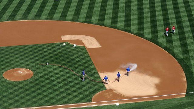 Le baseball est plus qu'un sport aux Etats-Unis. [Michael Nelson - Keystone]