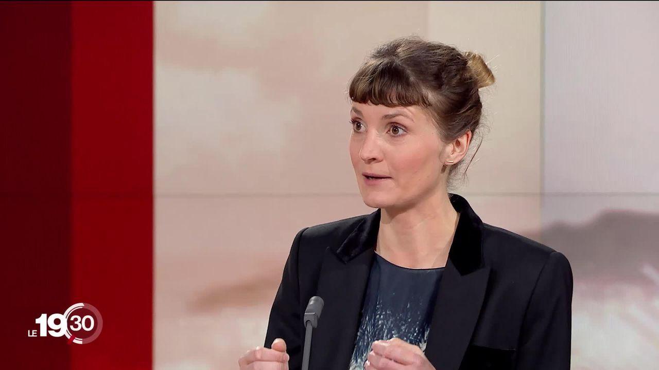 """Aurélie Coulon """"La fiabilité clinique du test COVID-19 est de l'ordre de 90-95%"""" [RTS]"""