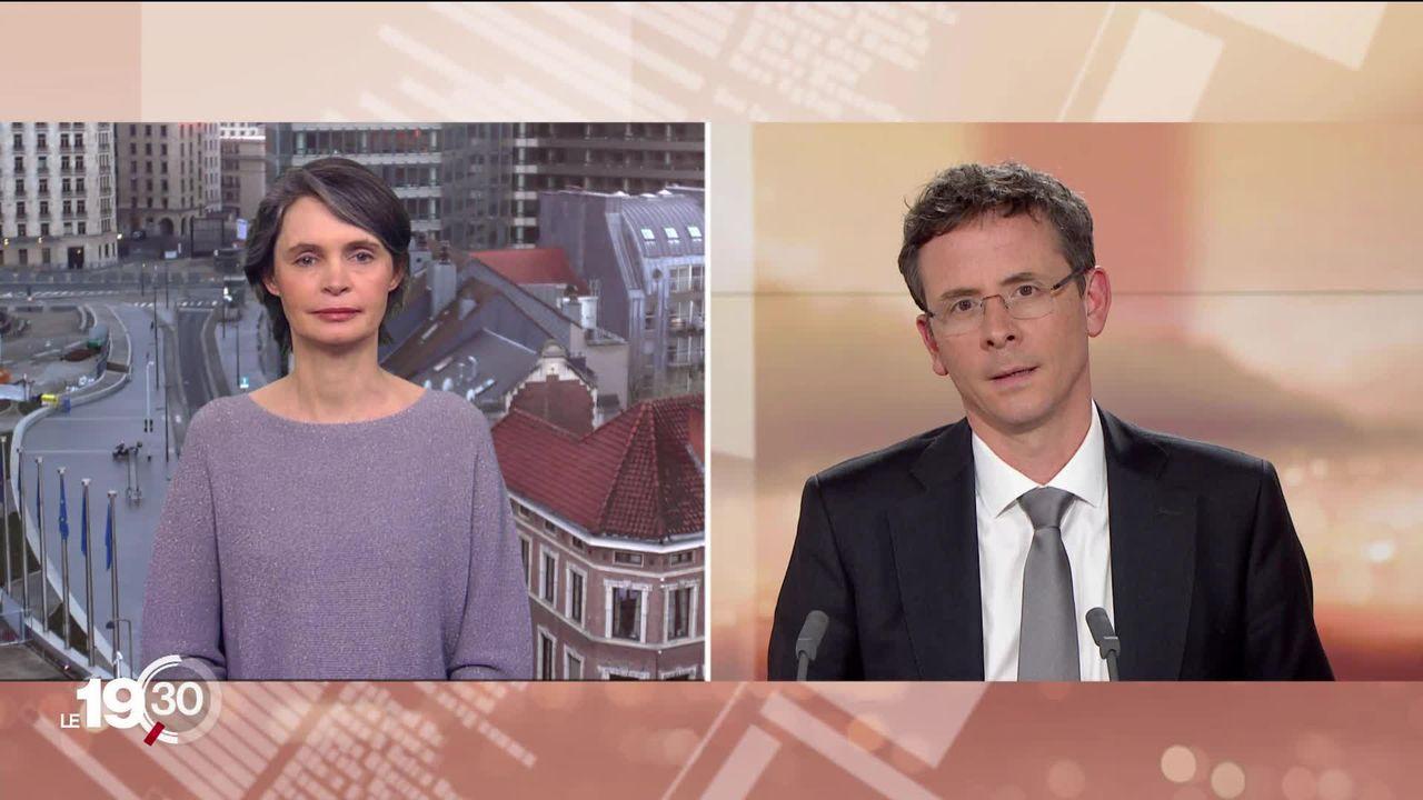 """Isabelle Ory """"Les Européens ont rétabli assez vite leur coopération, mais le chaos des débuts de la crise a marqué les esprits. [RTS]"""
