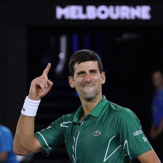Tennis: Djokovic, un record battu sans lever le petit doigt?