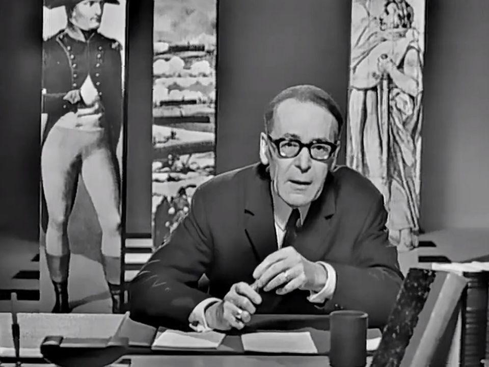 Henri Guillemin raconte Napoléon en 1968. [RTS]