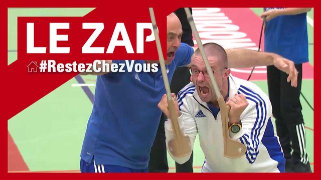 Le Zap RTSsport #RestezChezVous #3