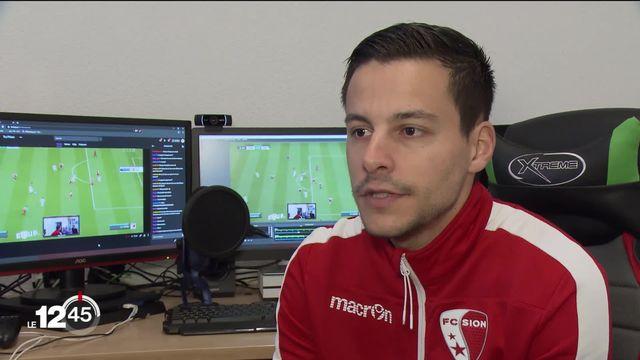 FC Sion: les émotions grâce au e-Sport [RTS]