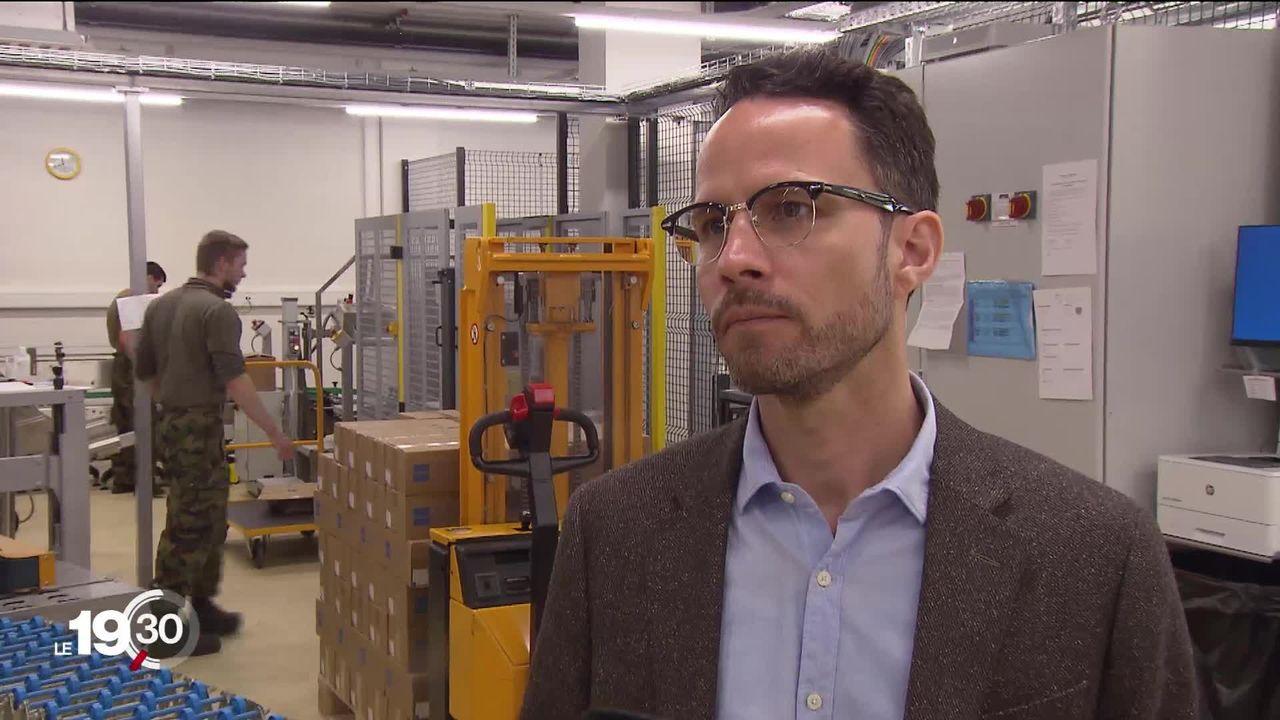 Une entreprise pharmaceutique d'Interlaken réagit à la pénurie de produits anesthésiants [RTS]