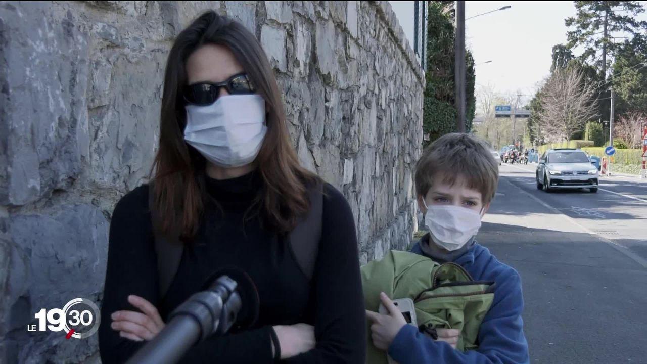 Le port du masque réclamé par certains pour sortir du confinement [RTS]
