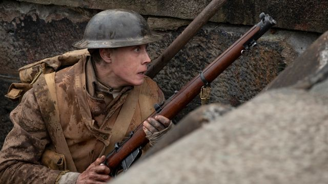"George MacKay dans ""1917"", de Sam Mendes. [Universal Pictures and Storyteller Distribution Co., LLC. ]"