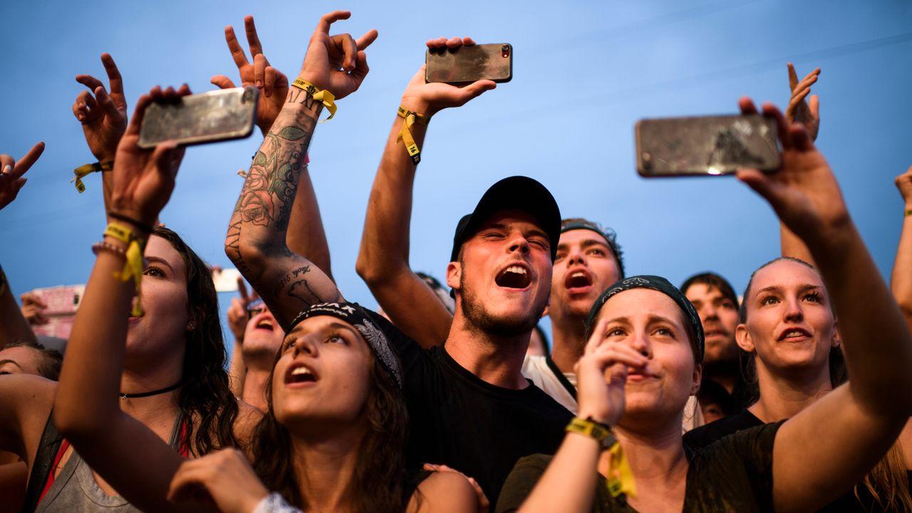 Live Nation a acheté l'été dernier le festival Openair de Frauenfeld et y a programmé le rappeur Eminem pour un concert unique en Suisse.  [Gian Ehrenzeller - Keystone]