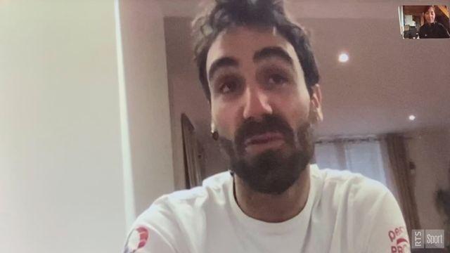 Alan Roura évoque son confinement à Lorient [RTS]