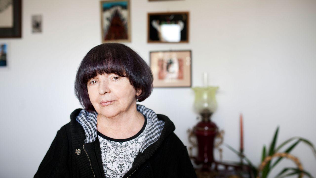 L'autrice polonaise Hanna Krall. [Krzysztof Dubiel - DR]