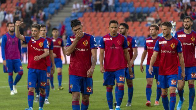 Les joueurs du FC Bâle ne sont pour l'instant pas tombés d'accord avec leur direction. [Georgios Kefalas - Keystone]