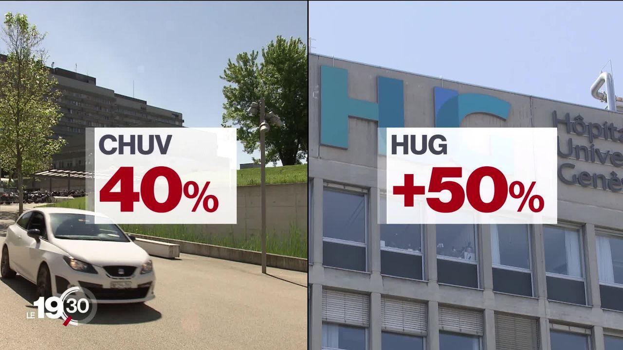 Plus de 40% des personnes hospitalisées au CHUV et aux HUG ont été traitées avec de la chloroquine. [RTS]