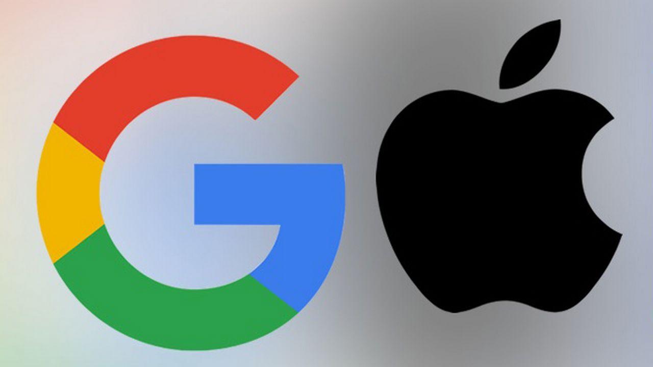 Les GAFA: Google, Apple, Facebook et Amazon.